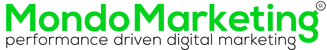 logo MondoMarketing - performance driven digital marketing