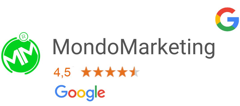 Google Reviews l MondoMarketing l Performance Driven Digital Marketing Bureau