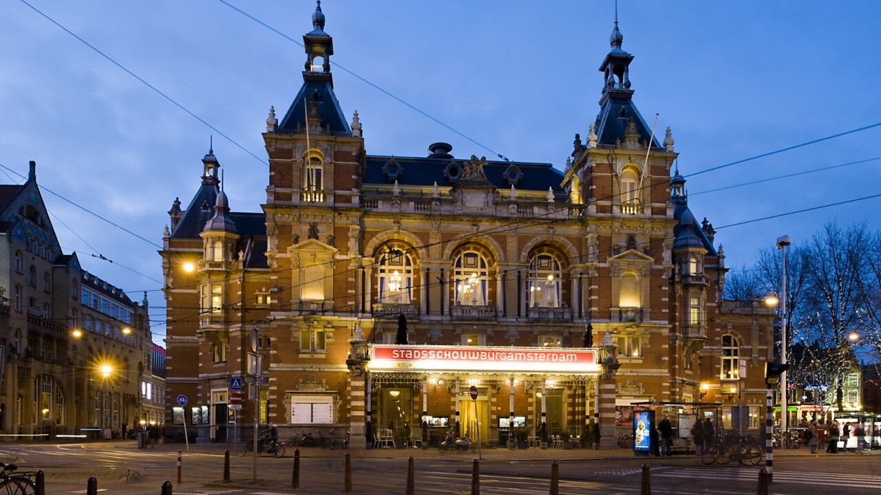 Gebouw Stadsschouwburg Amsterdam l Voorstellingen l MondoMarketing l Performance Driven Digital Marketing Bureau