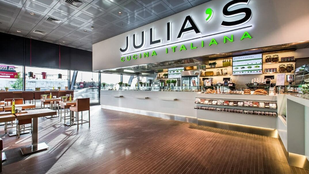Julia's l winkel op het station l MondoMarketing l Performance Driven Digital Marketing Bureau