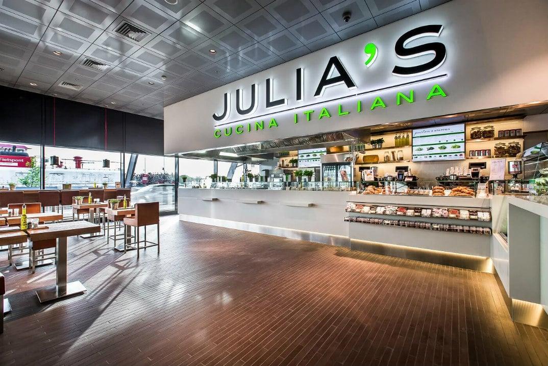 Julia's l winkel op het station l MondoMarketing l Performance Driven Digital Marketing Bureau