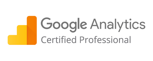 Logo Google Analytics l Accreditaties l MondoMarketing