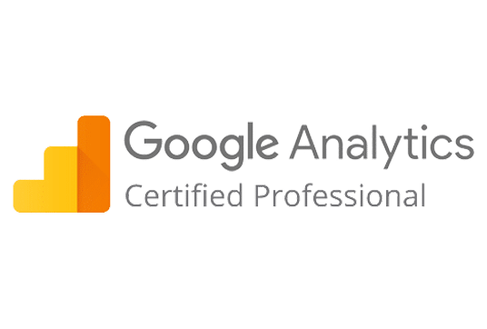 logo Google Analytics Certified Professional l Accreditaties l MondoMarketing l Performance Driven Digital Marketing Bureau