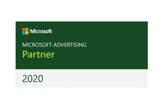 logo Microsoft Advertising Partner 2020 l MondoMarketing l Performance Driven Digital Marketing Bureau