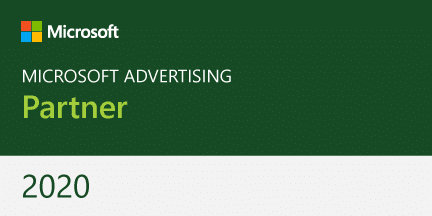 logo Microsoft Advertising Partner 2020 l MondoMarketing l Digital Marketing Bureau Utrecht