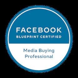 logo Facebook Blueprint Media Buying Professional l Partners l MondoMarketing l Performance Driven Digital Marketing
