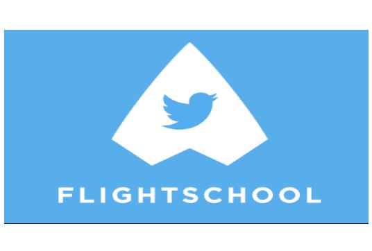 Logo Twitter Flight School l Accreditaties l MondoMarketing l Performance Driven Digital Marketing Bureau